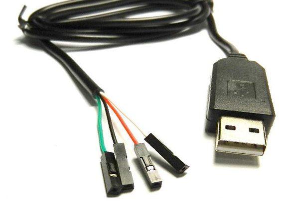 [富廉網] UB-391 USB轉杜邦接頭TTL傳輸線