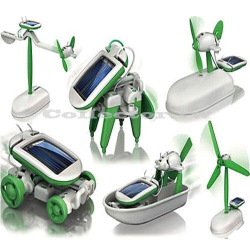 【超取399免運】太陽能智慧6合1玩具組 創意太陽能 動力 玩具套裝 腦力開發 大小男孩都想擁有~