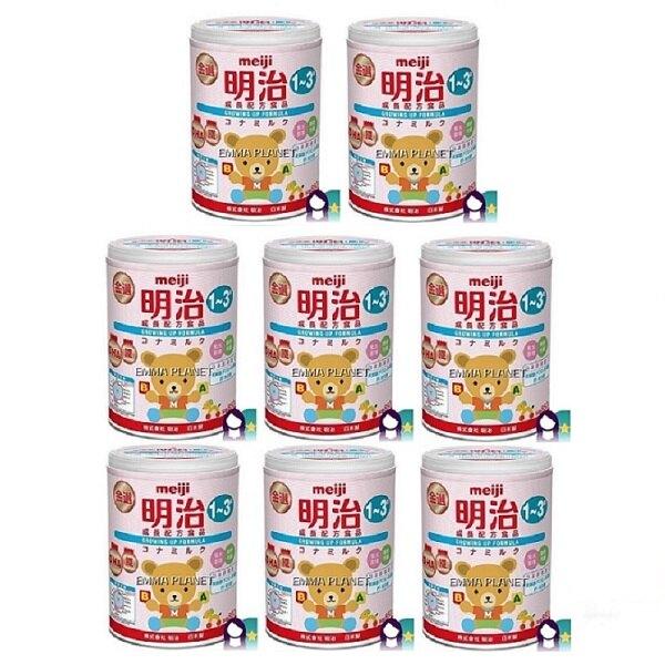 明治 金選成長配方奶粉( 850gx8罐)原箱包裝