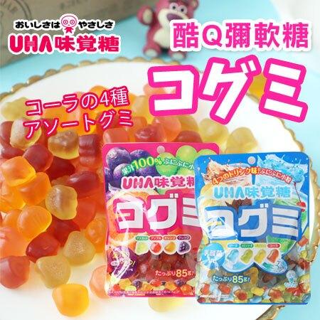 日本 UHA 味覺糖 酷Q彌軟糖 85g 軟糖 水果軟糖 汽水軟糖 糖果 QQ軟糖 日本軟糖【N103147】