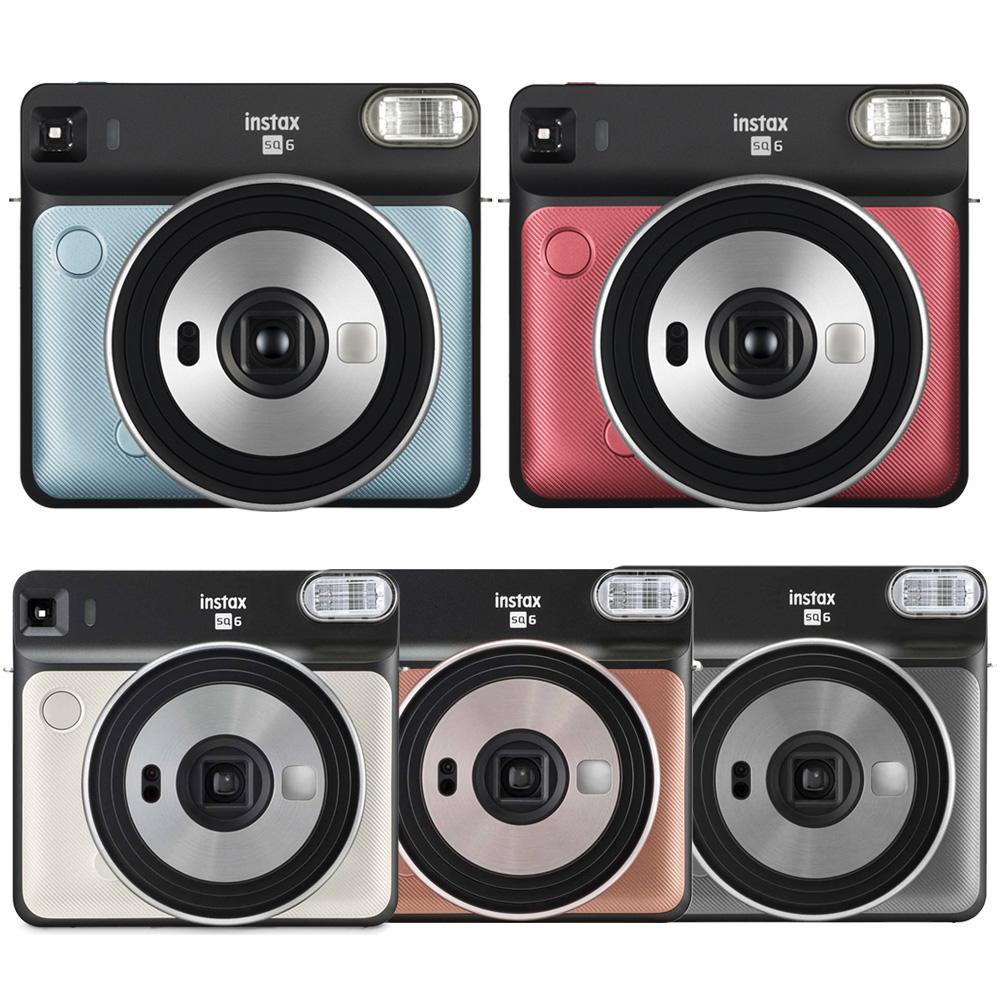 FUJIFILM instax SQUARE SQ6 方形拍立得相機 (公司貨).