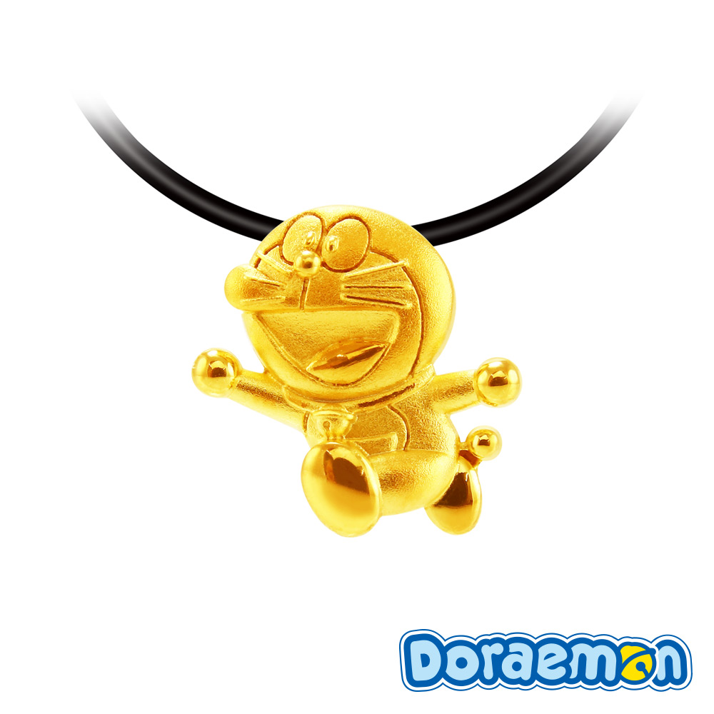 哆啦a夢Doraemon-開懷大笑-黃金墜子