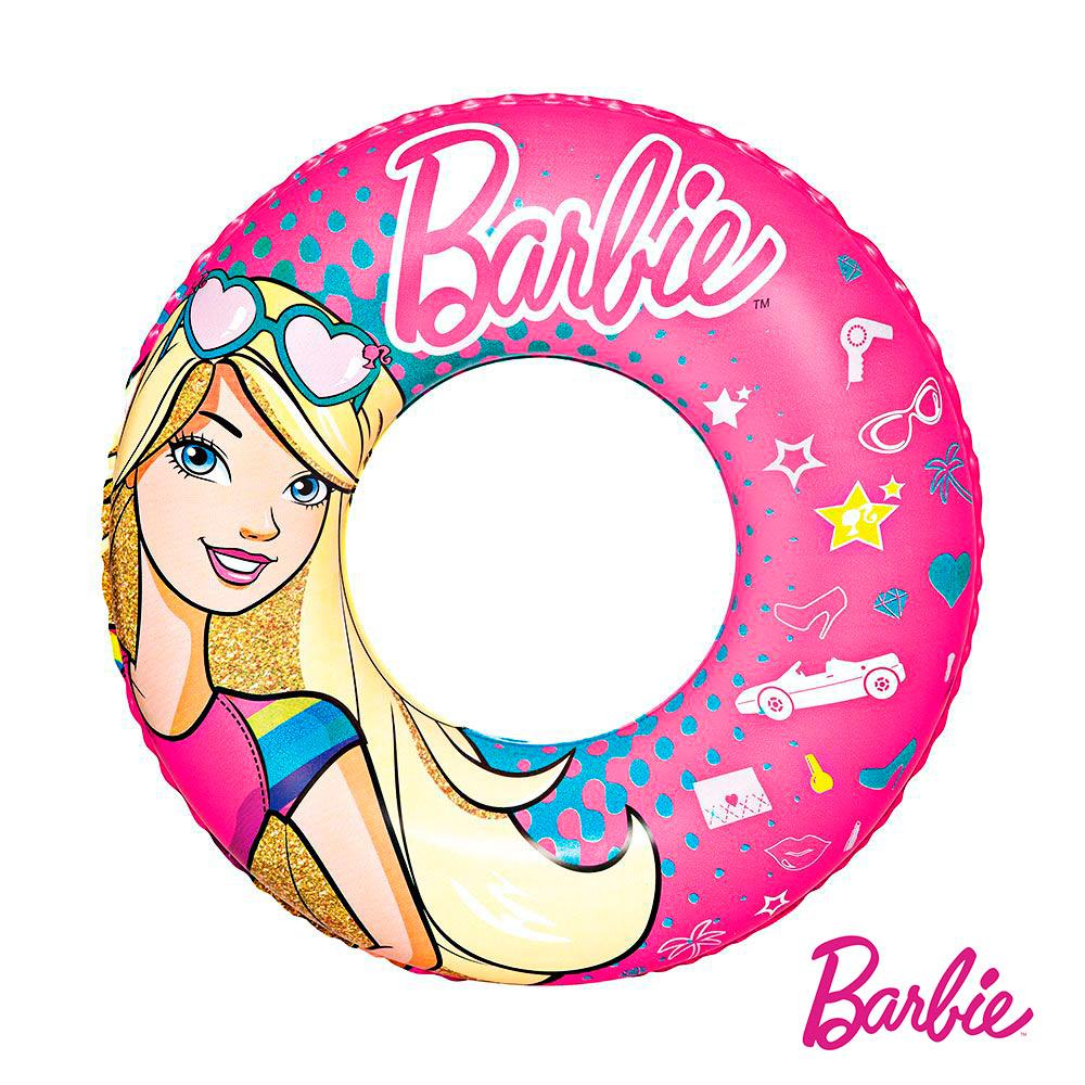 Barbie。芭比娃娃充氣泳圈