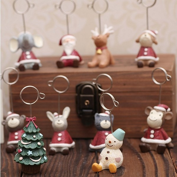 聖誕節交換禮物 名片夾 新品聖誕擺件名片夾 6款任選 想購了超級小物