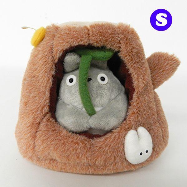 龍貓 樹洞 絨毛玩偶 娃娃 S號 宮崎駿 TOTORO 日本正版 該該貝比日本精品