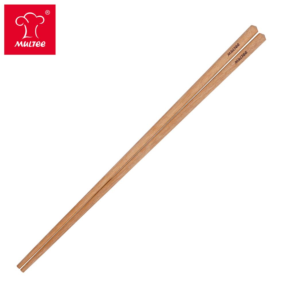 【MULTEE摩堤】34cm鐵木料理筷_土黃色