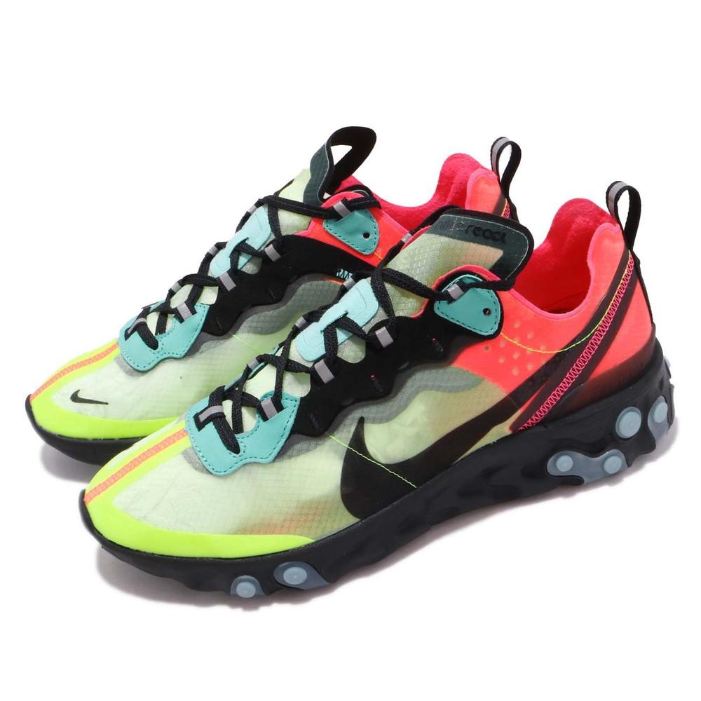 Nike 耐吉 React Element 87  慢跑女鞋 AQ1090-700