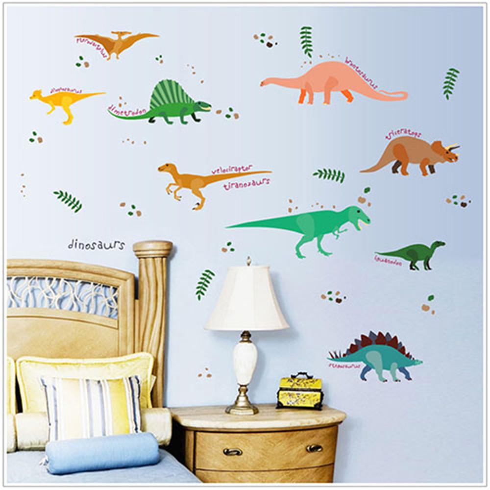 jb 時尚壁貼可愛恐龍樂園