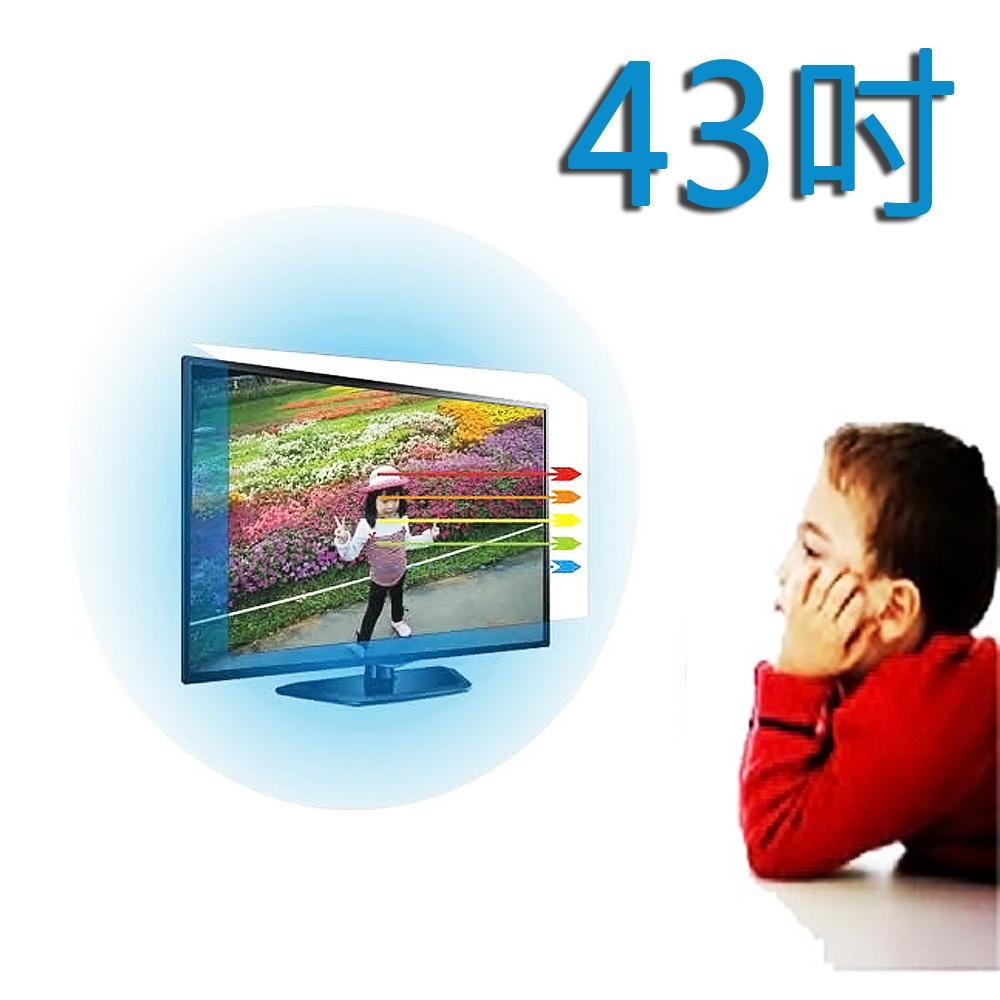 台灣製~43吋[護視長]抗藍光液晶螢幕 電視護目鏡   TECO  東元  C款 TL43U1TRE