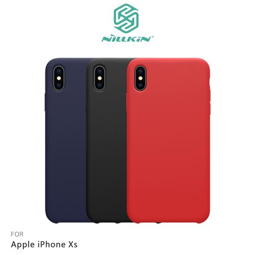 NILLKIN Apple iPhone Xs 感系列液態矽膠殼