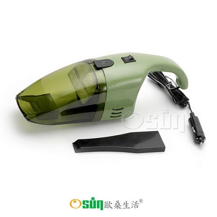 osun乾濕兩用車用吸塵器 淨靜勁(ja18 綠色)