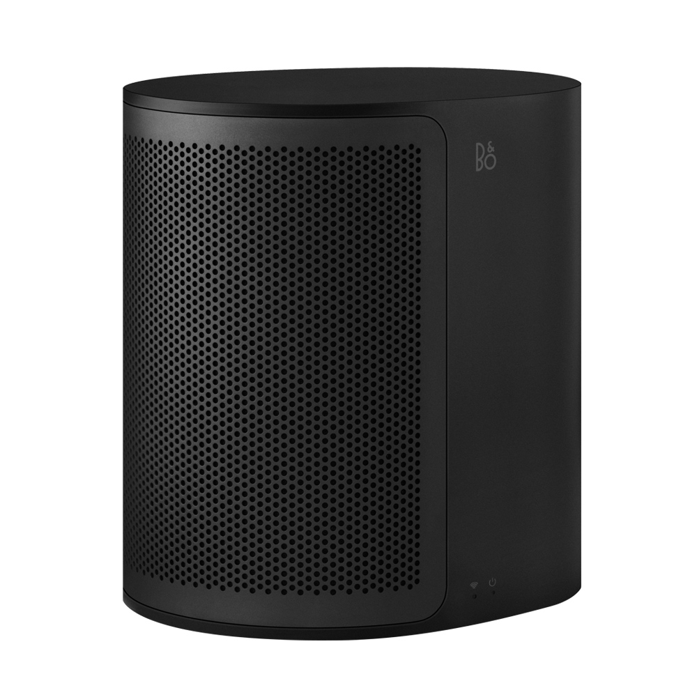 B&O PLAY M3 藍牙/wifi 無線音響 (鋁柵面罩 尊爵黑) 空間 隨音樂旅行