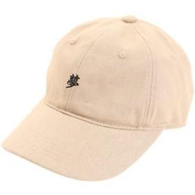 【Super Sports XEBIO & mall店:帽子】リネン刺繍キャップ YUME 897PA9ST1725 BEG