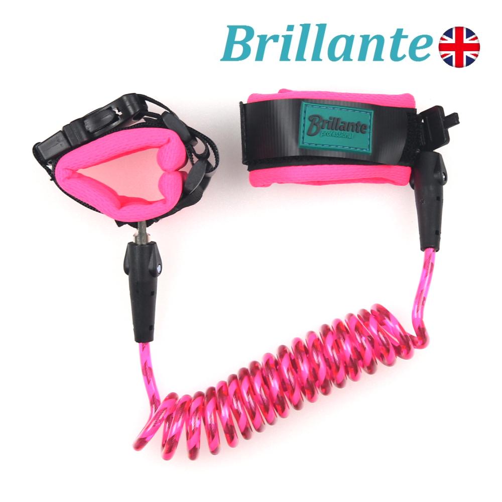 Brillante 兒童防走失帶( 推車防失控、防竊安全繩索 )-粉紅