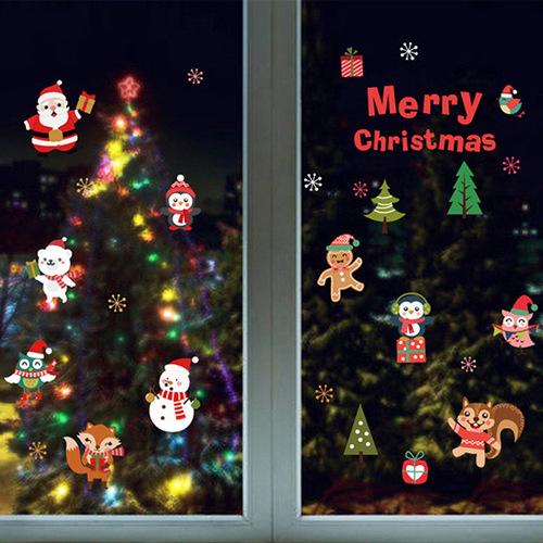 時尚壁貼 - 可愛版聖誕節