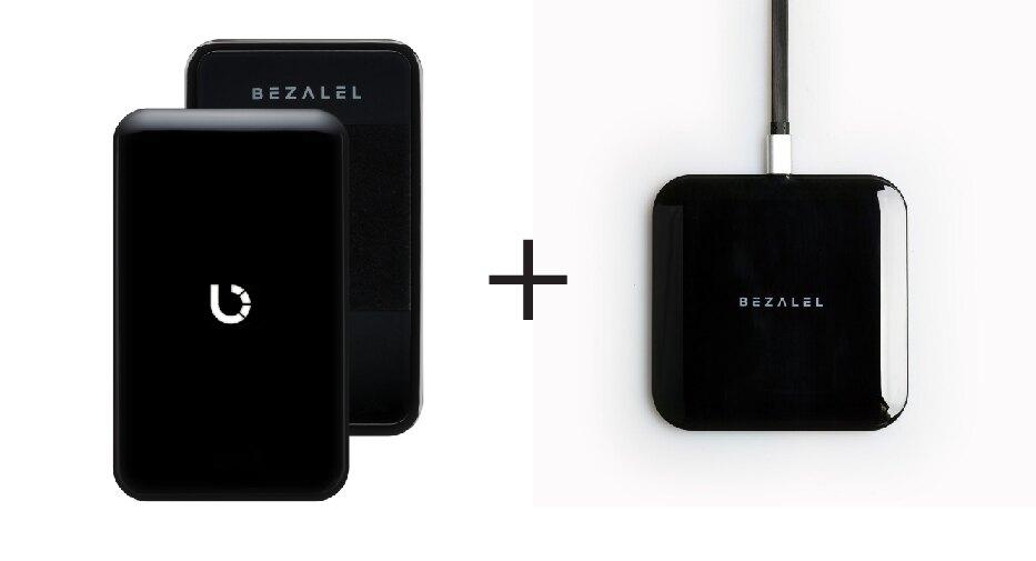 美國 BEZALEL 倍加能 Prelude 無線充電行動電源 + Futura X 無線充電板 無線充電組合包