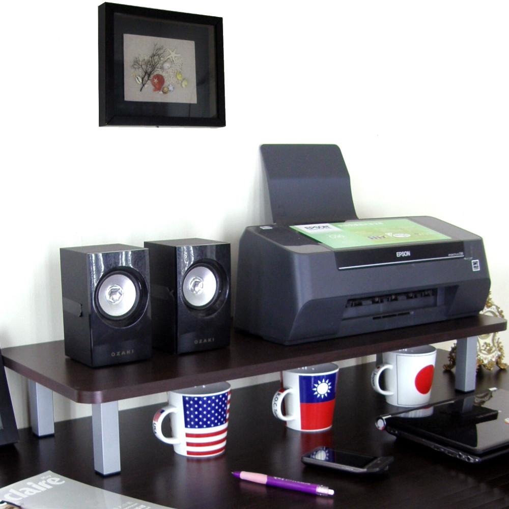 愛家寬80公分-桌上型置物架/螢幕架(三色可選)