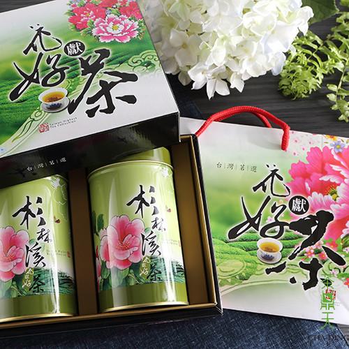 茶鼎天花獻好茶~杉林溪高冷茶禮盒