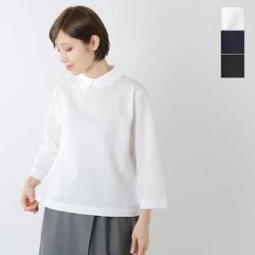 GRANDMA MAMA DAUGHTER toro グランマ ママ ドーター トロ サッカーストライプラウンドカラーTシャツ tc914161