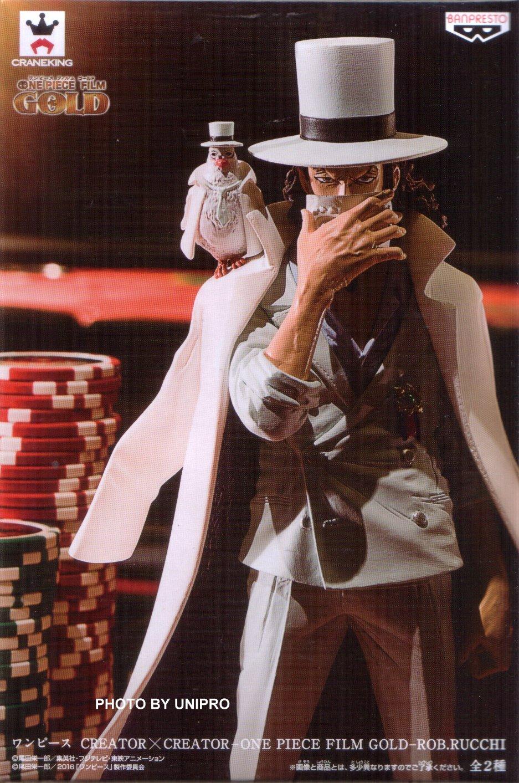 台灣代理版 CREATOR X CREATOR-ROB.RUCCHI- 單售 白色款 CP9 鴿子男 路基 海賊王 航海王 造型師 寫真家 公仔