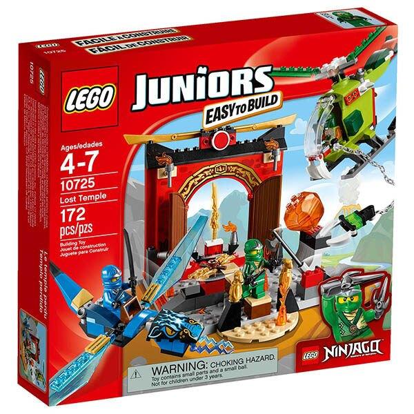 10725【LEGO 樂高積木】Juniors系列- 失落的廟宇
