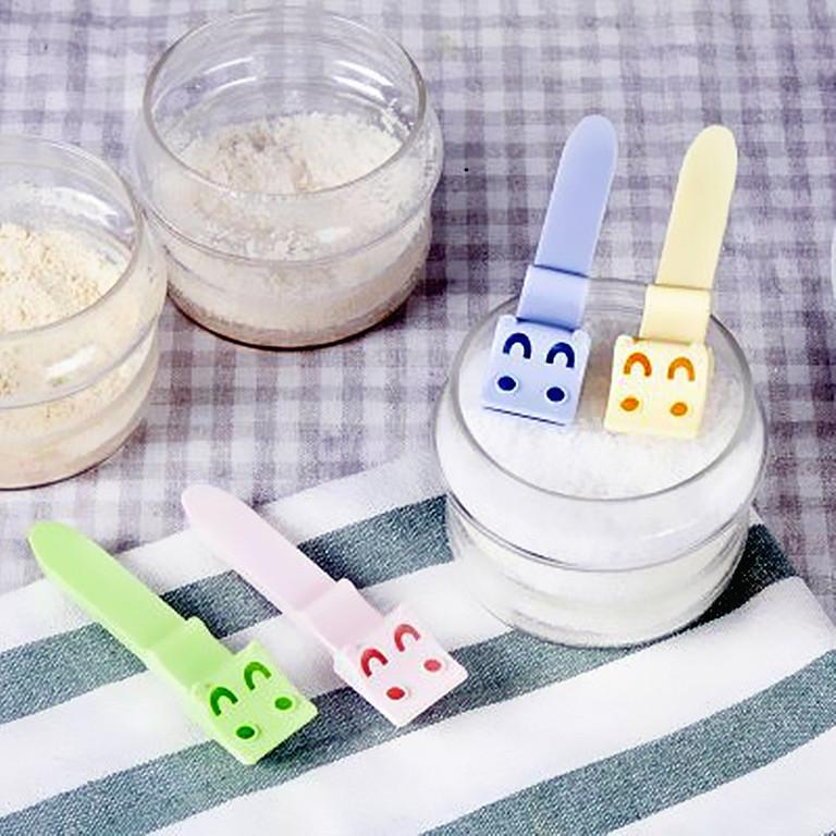 easy 可愛小河馬計量勺(2入)/計量匙/調味勺/廚房測量工具/計量器/料理烘焙必備