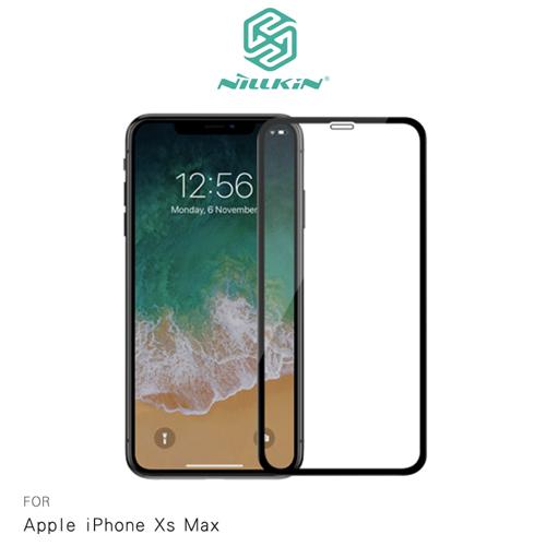 NILLKIN Apple iPhone Xs Max 3D CP+ MAX 滿版玻璃貼