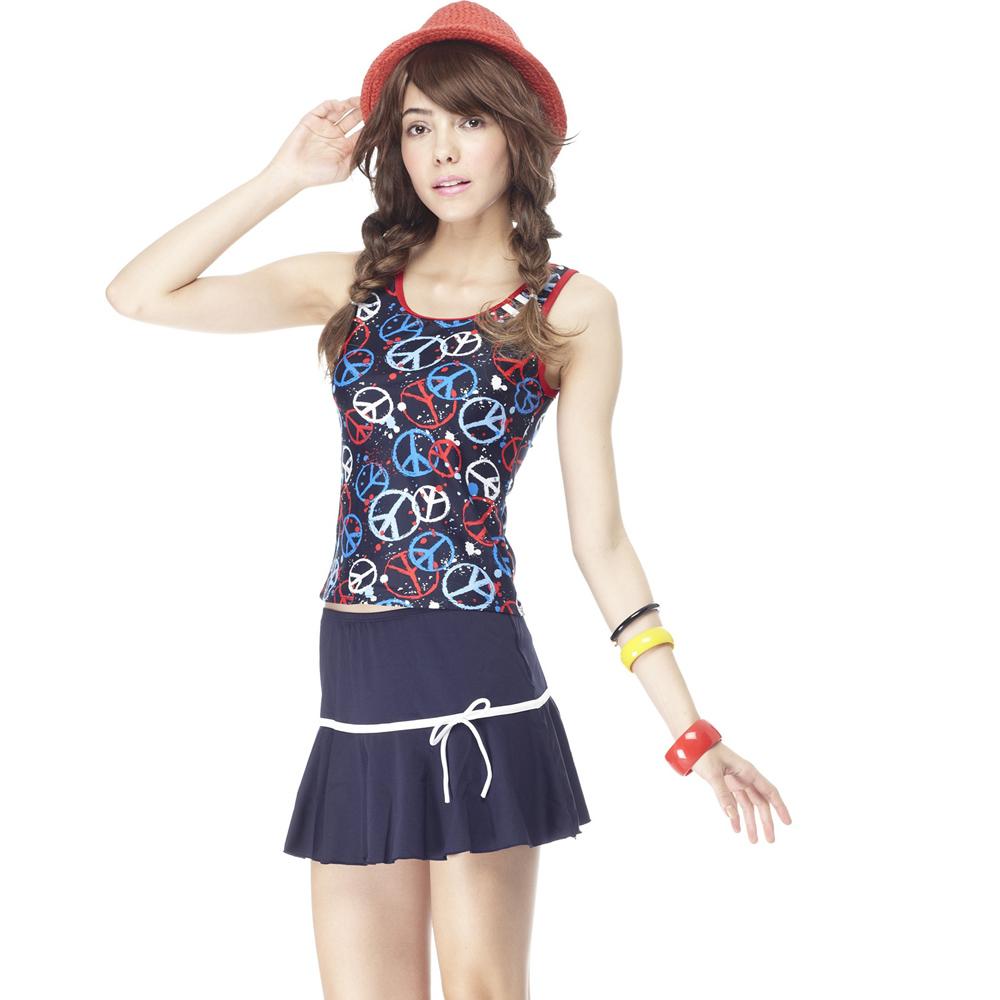 【SARBIS】MIT大女三件式泳裝附泳帽B93207
