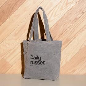 Daily russet デイリーラシット スタッズ付トートバッグ M