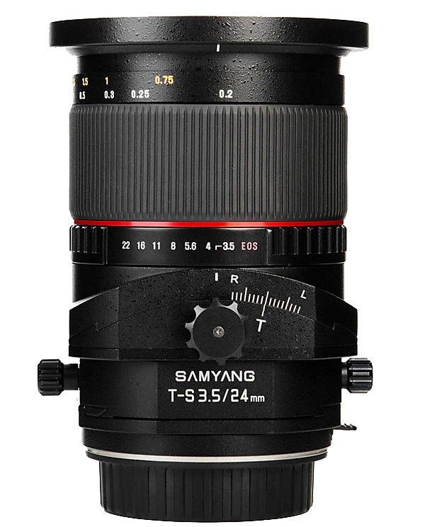 Samyang 鏡頭專賣店: 24mm/F3.5 ED ASPH 移軸鏡 for Sony Alpha mount(保固三個月)