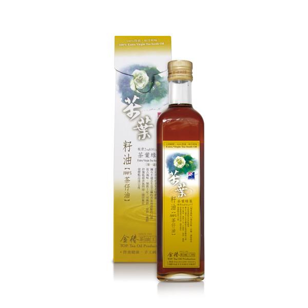 金椿 茶葉綠菓茶葉籽油(500ml/瓶)