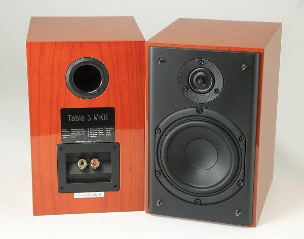 【宏華資訊廣場】DIVINI天樂 - TABLE 3 MK2 被動式書架喇叭 (櫻桃木皮鋼琴烤漆) 全新庫存出清品 台灣公司貨