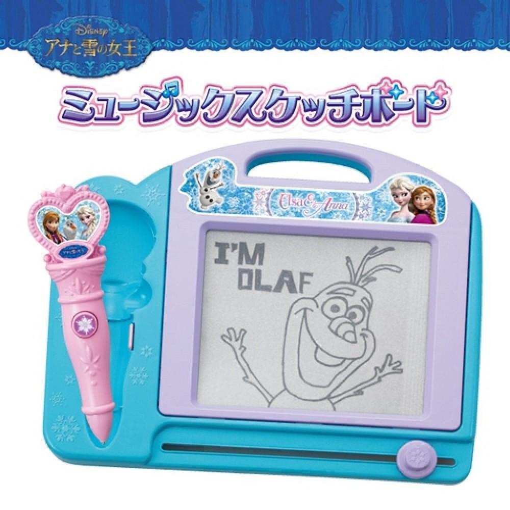 迪士尼 disney 冰雪奇緣 frozen 畫板玩具 4975201330699