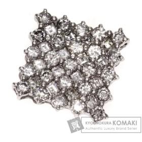 ダイヤモンド ペンダント K18ホワイトゴールド  中古 SELECT JEWELRY セレクトジュエリー