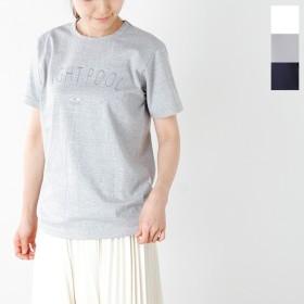 EEL イール コットンプリントTシャツ NIGHT POOL e-17542 レディース