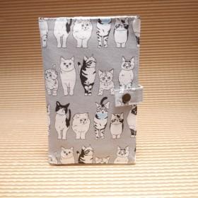 猫柄ネコ柄ねこ柄通帳入れ通帳カバー通帳ケース大人かわいい