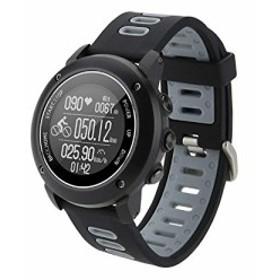 57d4d80023 スマートウォッチ GPSアウトドアスポーツウォッチ ip68レベル水中100メートル防水 戸外運動 ランニング マラソン