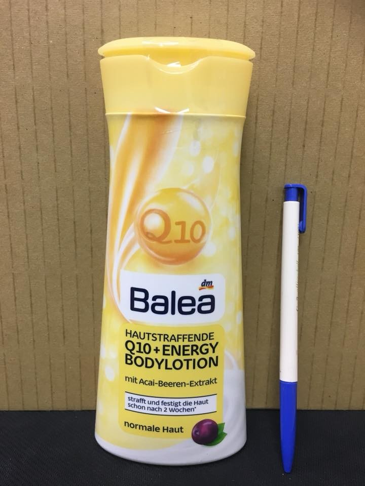 德國 balea輔酶q10滋潤緊致潤膚乳身體護理乳400ml