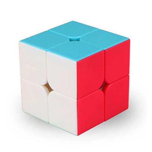 魔方格二階比賽專用魔術方塊(六色螢光版)(授權)
