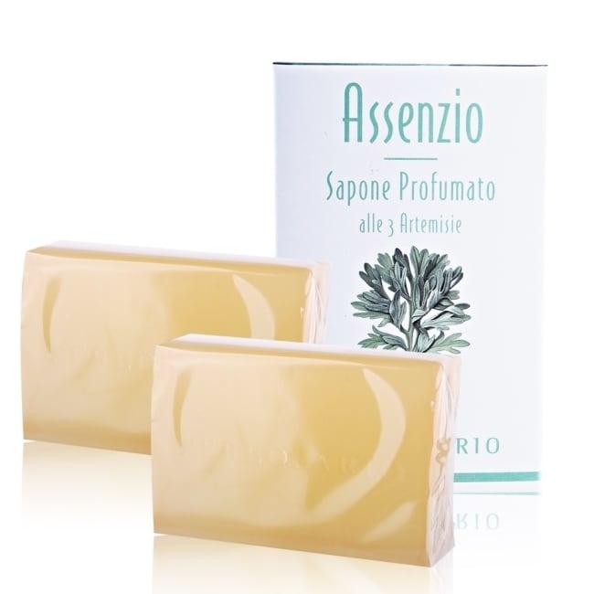 L'ERBOLARIO 蕾莉歐 苦艾淨化保濕植物皂(100g)x2入