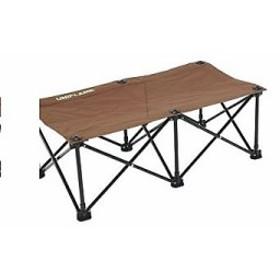 【送料無料】 ユニフレーム キャンプ用品 ベンチ コット リラックスベンチ ブラウン×ブラック 680315