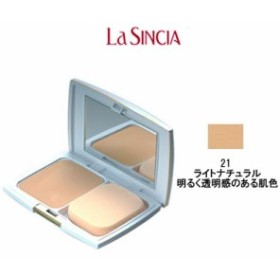 ラシンシア パウダリーパクトUV レフィル 21 ライトナチュラル 明るく透明感のある肌色 - 定形外送料無料 -