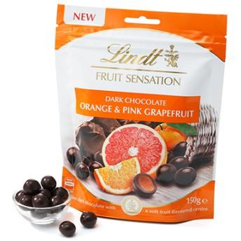 リンツ Lindt チョコレート チョコ スイーツ ギフト センセーションフルーツ オレンジ&ピンクグレープフルーツ