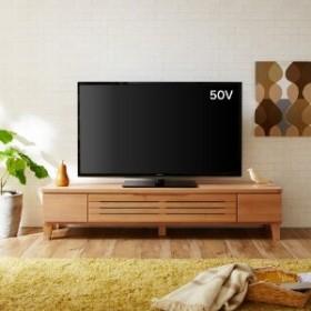 アルダー材のシンプルテレビ台
