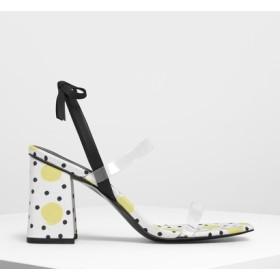 ボウタイ ストラッピー サンダル / Bow Tie Strappy Sandals (Multi)