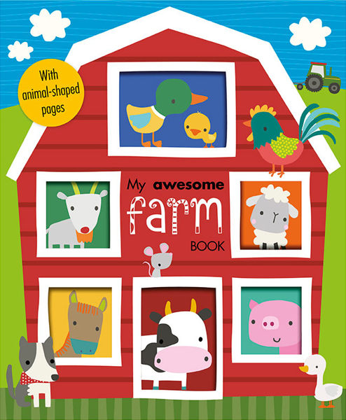 My Awesome Farm Book 我的農場 趣味學習書