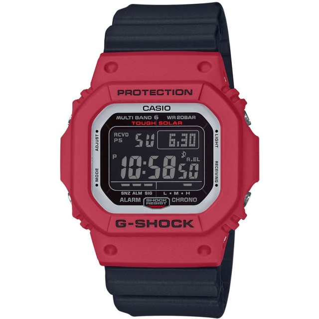 82cb5f7ae6 G-SHOCK】SPECIAL COLOR / 電波ソーラー / GW-M5610RB-4JF (レッド ...