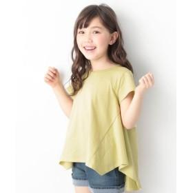 [マルイ]【セール】子供服 半袖 半そで キッズ 韓国子供服 ハンカチヘム半袖 Tシャツ 女の子 トップス/デビロック(devirock)