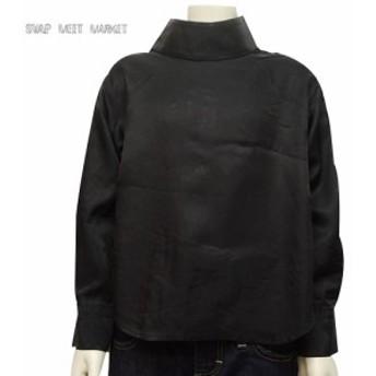 【SALE 30%OFF】SWAP MEET MARKET(スワップミートマーケット) キュプラ ハイネックL/S ブラウス(100-140) かわ