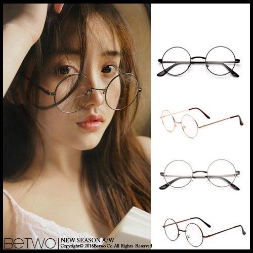彼兔 betwo眼鏡鏡框 OJB*復古風潮圓形裝飾用眼鏡框【4453-AE82】06090022